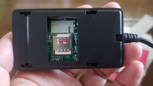 GPSモジュールに楽天モバイルシム-EasyGuard(EC002)